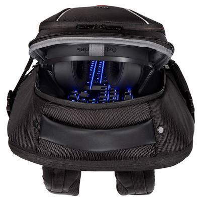 """Picture of Strike 17.3"""" Gaming Laptop Backpack - Black / Red"""