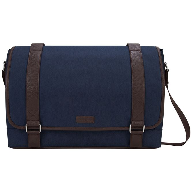 """Picture of 15.6"""" City Fusion II Messenger - Blue/Brown"""