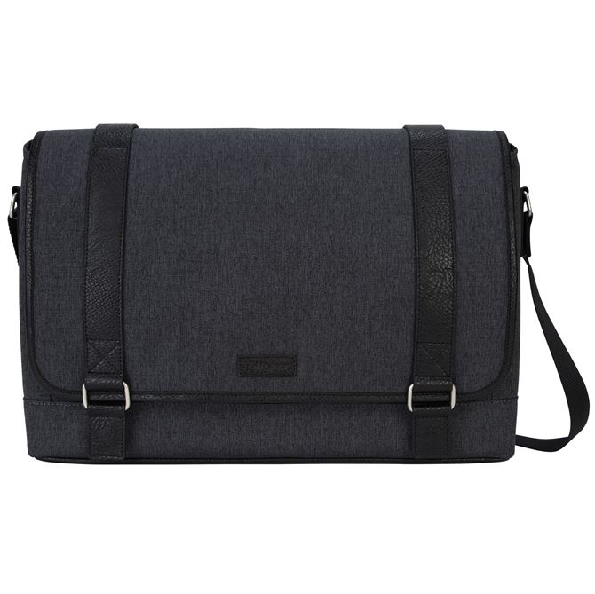 """Picture of 15.6"""" City Fusion II Messenger - Charcoal/Black"""