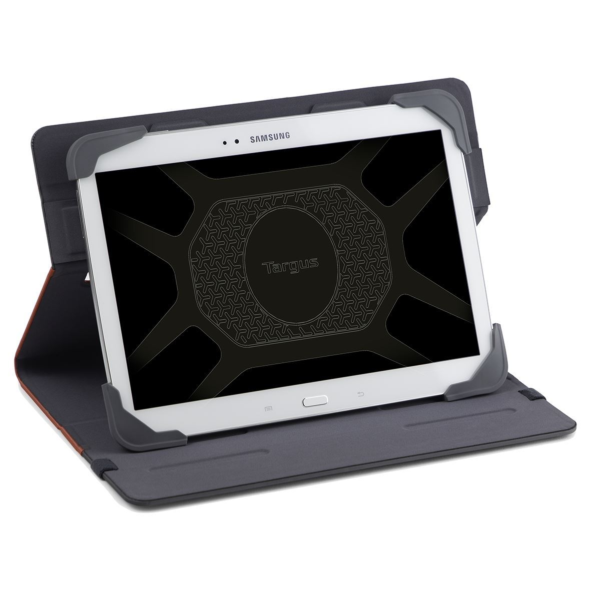 7-8'' Fit-N-Grip II Rotating Universal Tablet Case Front