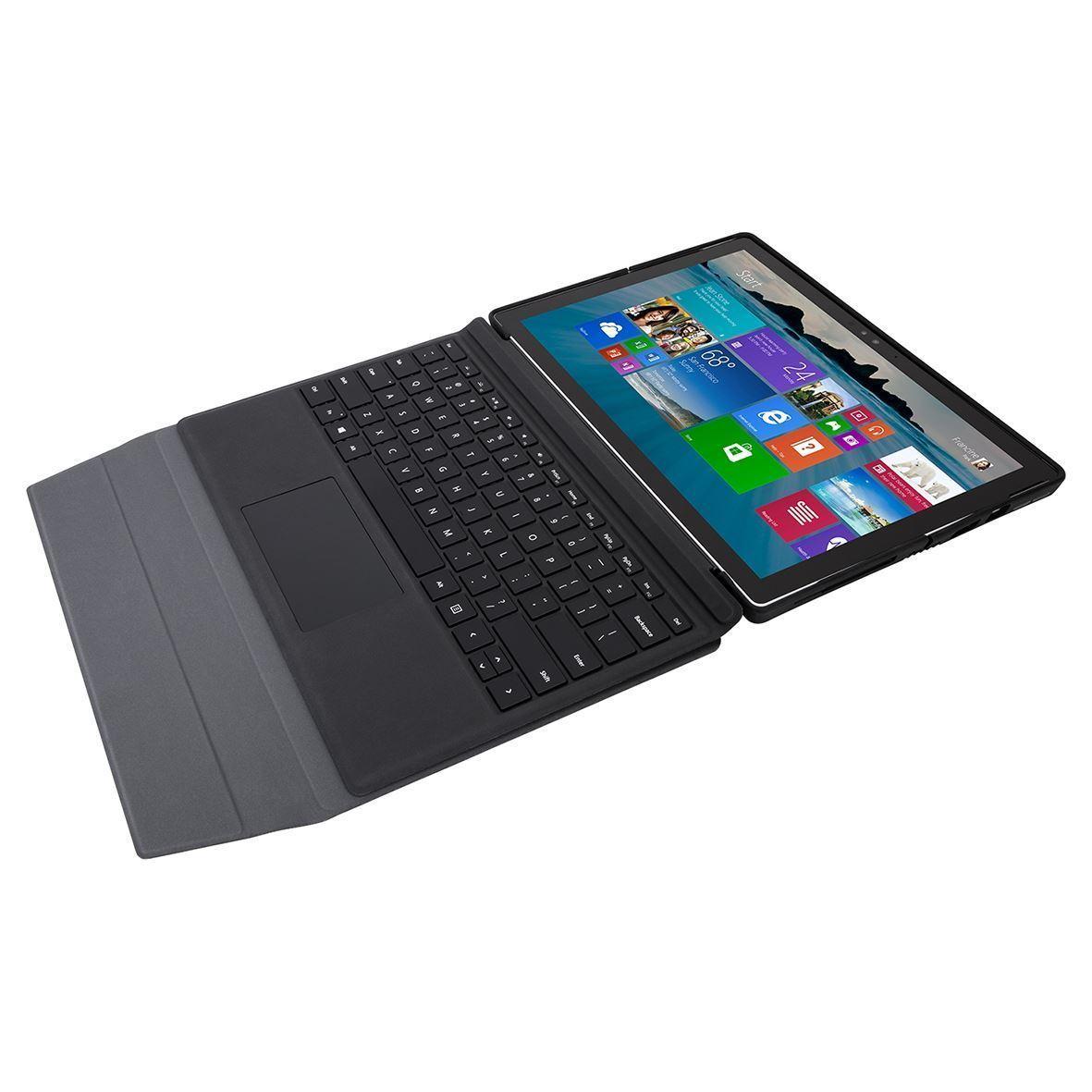 Folio Wrap + Stand for Microsoft Surface Pro 4 (THZ618GL) - Flat