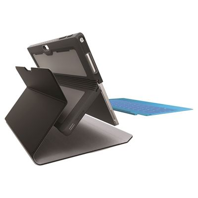 """Picture of Foliowrap Microsoft Surface Pro 4 (12.3"""") Tablet Case - Black"""