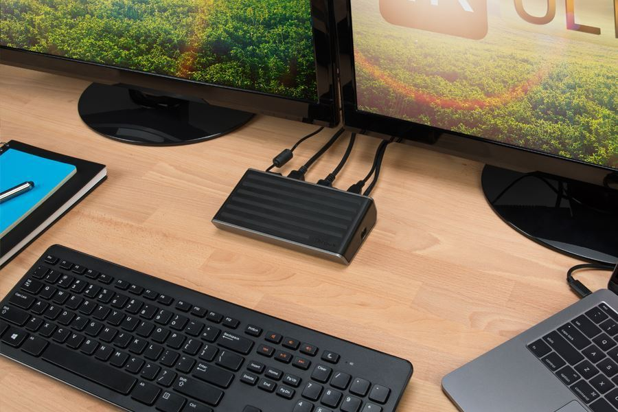 DisplayLink® and Targus® Announce World's First Dual UHD 4K2K 60Hz USB Docking Station Using DisplayLink's Latest DL-6950 Flagship Chipset
