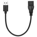 Picture of 15cm USB 3.0 A/F to A/M Extension Cable