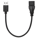 15cm USB 3.0 A/F to A/M Extension Cable - ACC997GLX
