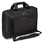 "Picture of CitySmart 14,15,15.6"" SlimlineTopload Laptop Case - Black/Grey"