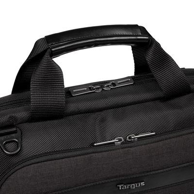 "Picture of CitySmart 12, 12.5, 13, 13.3, 14"" SlimlineTopload Laptop Case - Black/Grey"