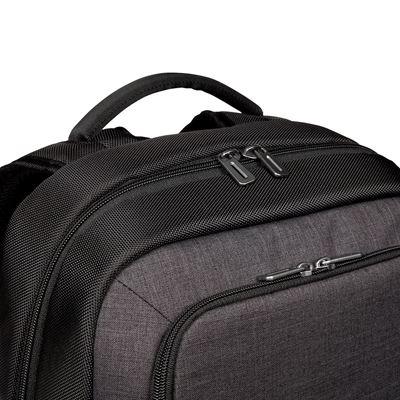 """Imagen de CitySmart 12,5 13 13,3 14 15 15,6"""" Essential Laptop Backpack – Negro/Gris"""