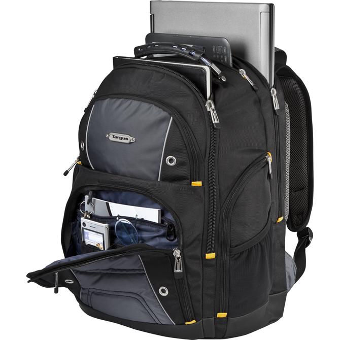 "16"" Drifter II Laptop Backpack - TSB238US - Black/Gray: Backpacks ..."