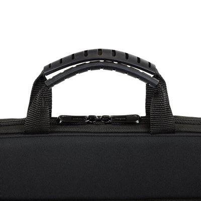 "Picture of Education EVA 11.6"" Work-In Clamshell Laptop Bag - Black/Grey"