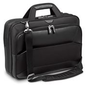 "Picture of Mobile VIP 12 12.5 13 13.3 14 15 & 15.6"" Large Topload Laptop Case - Black"
