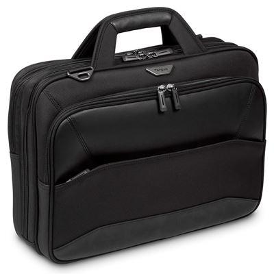 """Imagen de Mobile VIP 12 12,5 13 13-3 14 15 15,6"""" Topload Laptop Case – Negro"""