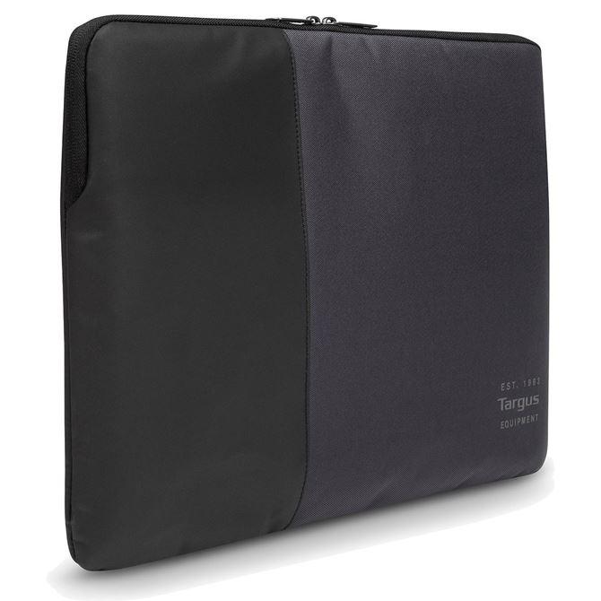 pulse pochette pour ordinateur portable 13 14 noir gris. Black Bedroom Furniture Sets. Home Design Ideas