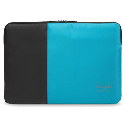 "Picture of Pulse 15.6"" Laptop Sleeve - Black/Atoll Blue"