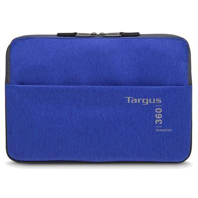 """Imagen de Funda 360 Perimeter de Targus para portátiles de entre 13-14"""" -Azul"""