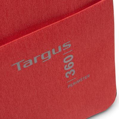 "Imagen de Funda 360 Perimeter de Targus para portátiles de entre 11,6-13,3"" - Rojo"