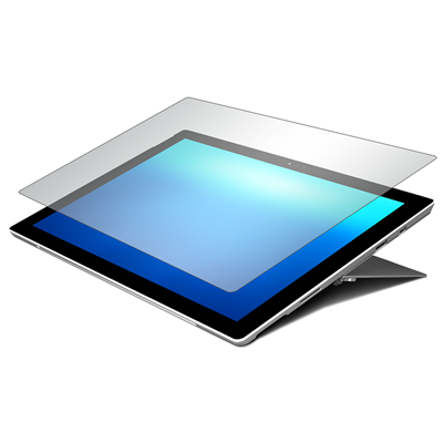 Scratch Resistant Screen Protector for Microsoft Surface Pro™ (2017) and Microsoft Surface Pro 4