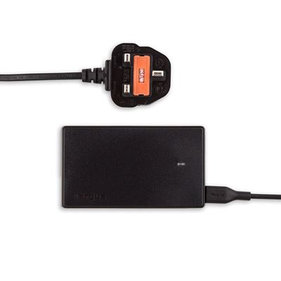 Picture of Targus Compact Laptop & USB Tablet Charger (UK)