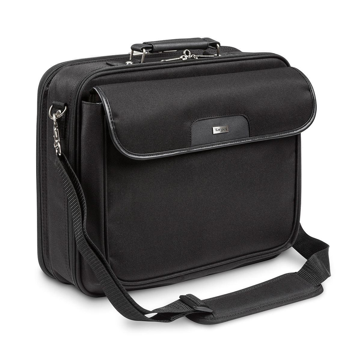 notepac plus clamshell sacoche pour ordinateur portable 15 6 noir. Black Bedroom Furniture Sets. Home Design Ideas