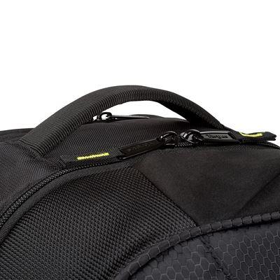 """Image sur Sac à dos Targus pour sports de raquettes et ordinateur portable 15,6"""" - Noir/Jaune"""