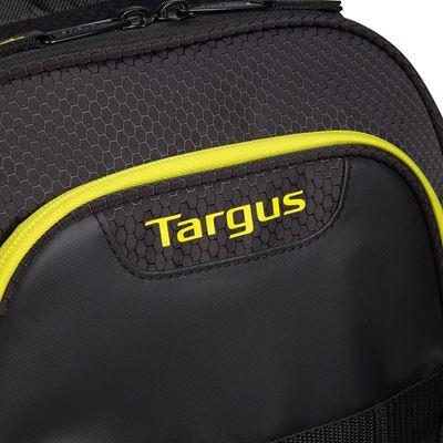 """Image sur Sac à dos Targus pour multisports pour ordinateur portable 15,6"""" - Noir/Jaune"""