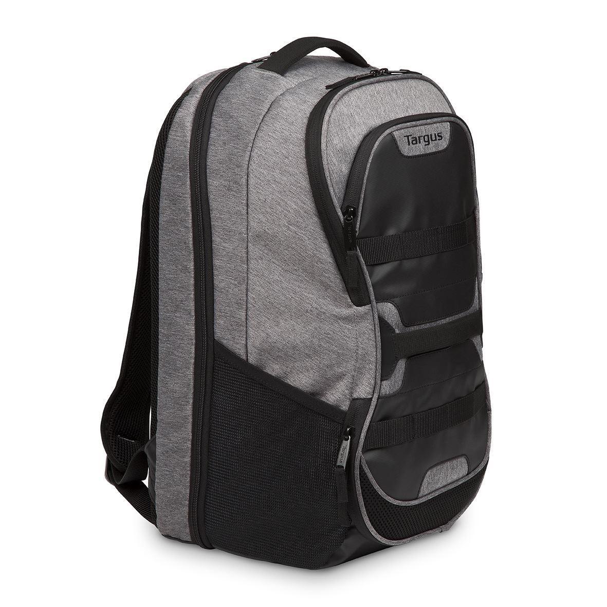 sac dos targus pour multisports pour ordinateur portable 15 6 gris. Black Bedroom Furniture Sets. Home Design Ideas