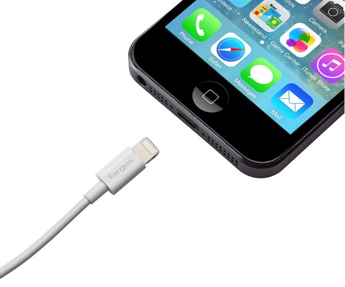 Picture of Sync & Charge Lightning Cable for Compatible Apple® Devices (3M) (White)