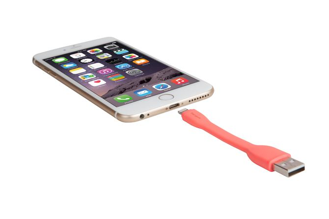 Picture of Ring Buckle Lightning Cable (Pink)