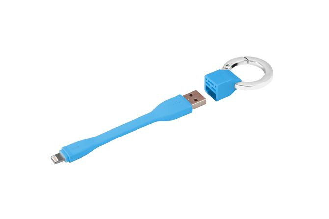 Picture of Ring Buckle Lightning Cable (Blue)