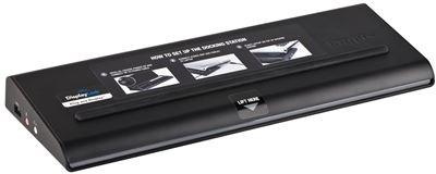 Picture of Universal USB 3.0 DV2K Docking Station with Power (Black)