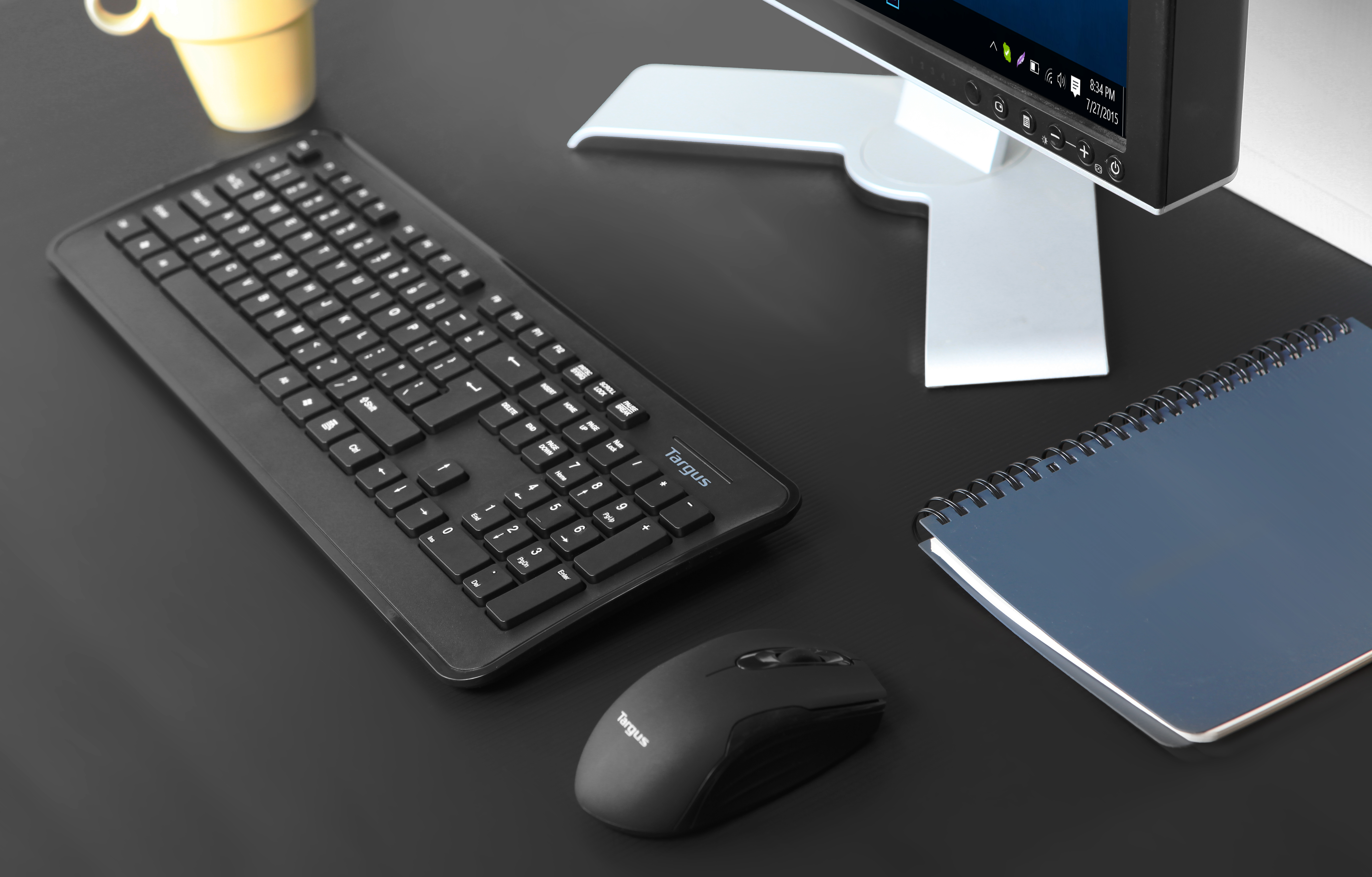 Wireless Mouse and Keyboard (Black)