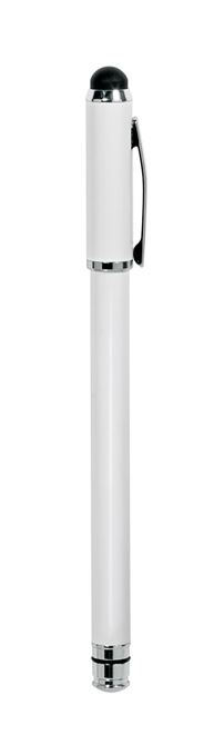 Picture of 2 in 1 Stylus for iPad® (White/Silver)