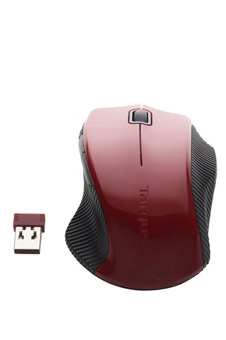 Picture of W071 Hot keys wireless bluetrace mouse (Red)