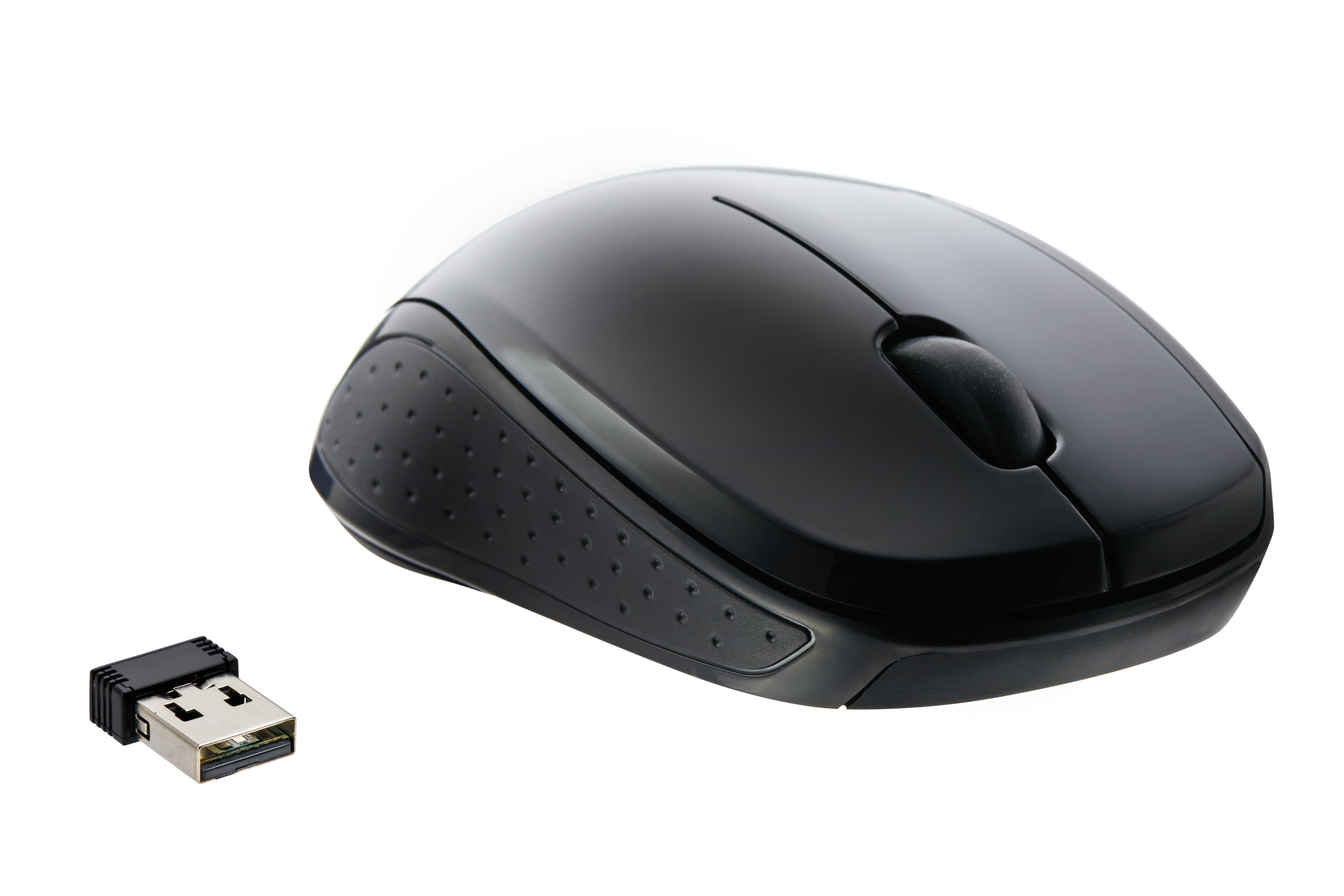 W571 Wireless Optical Mouse Black