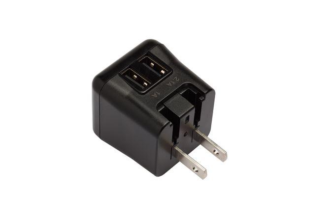 Picture of World Power Ultramini 15.5W dual-USB (Black)