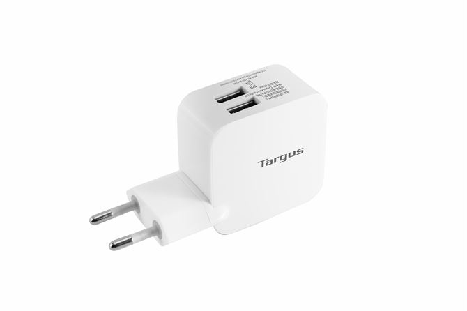 Picture of Dual USB 21W Rapid Power Charger (White)