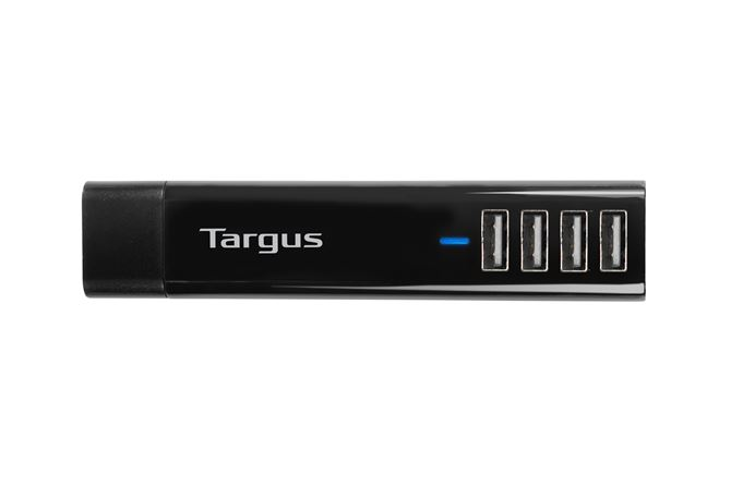 Picture of USB 4-Way International Fast Charger (Black)