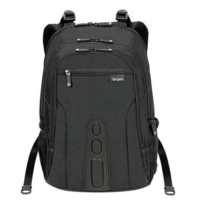 """Picture of 15.6"""" Spruce™ EcoSmart® Checkpoint-Friendly Backpack (Black)"""