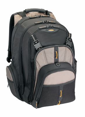 """Picture of 15.6"""" Metro Backpack (Black/Grey)"""