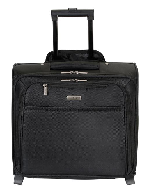 """Picture of 15.6"""" Rolling Laptop/Overnighter Case (Black)"""