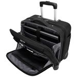 """Picture of 15.6"""" Mobile ViP 4-Wheeled Business & Overnight Roller (Black)"""