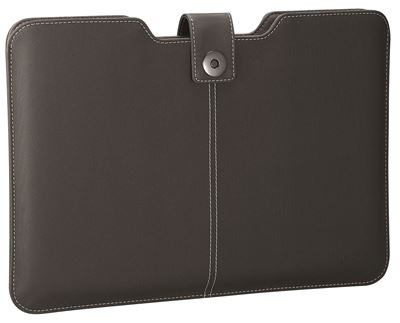 "Picture of 11"" Twill Sleeve for MacBook® Air (Twill PU) - Jet Black"