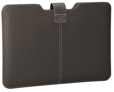 "Picture of 15"" Twill Sleeve for MacBook® (Jet Black)"