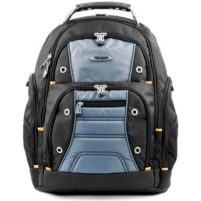 """Picture of 16"""" Drifter II Laptop Backpack (Black/Gray)"""
