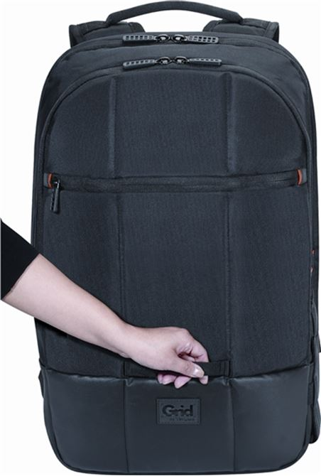 "Picture of 16"" Grid™ Essential 27L Backpack (Black)"