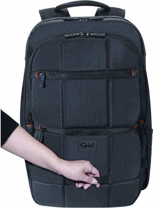 """Picture of 16"""" Grid™ Advanced 32L Backpack (Black)"""