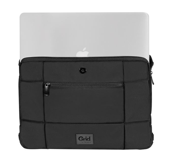 "Picture of 14"" Grid™ High Impact Slipcase  (no id holder) (Black)"
