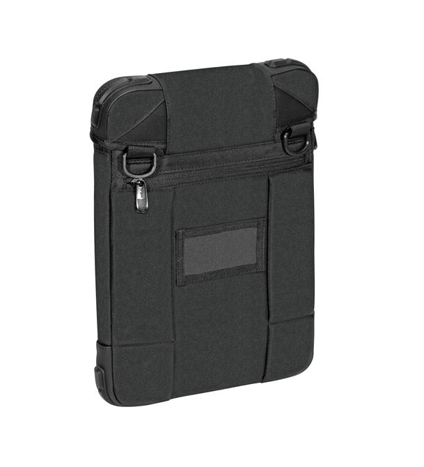 """Picture of 12"""" Grid High-Impact Vertical Slipcase (Black)"""