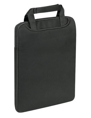 """Picture of 15.6"""" Vertical Sleeve w/ Handle (Black)"""