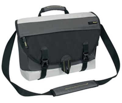 "Picture of 14"" Brick Messenger (Black)"